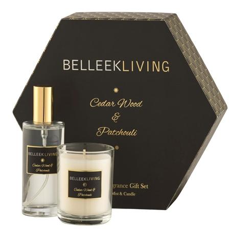 Belleek Living Cedarwood & Patchouli Gift Set  - Click to view a larger image
