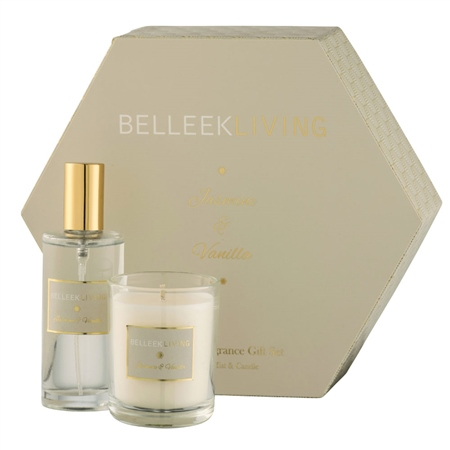Belleek Living Jasmine & Vanilla Gift Set  - Click to view a larger image