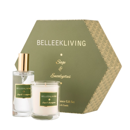 Belleek Living Sage & Eucalyptus Gift Set  - Click to view a larger image