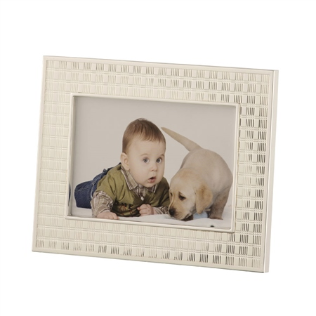 Belleek Living Chequer  4 x 6 Frame  - Click to view a larger image