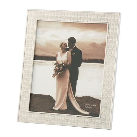 Belleek Living Chequer 8 x 10 Frame  - Click to view a larger image