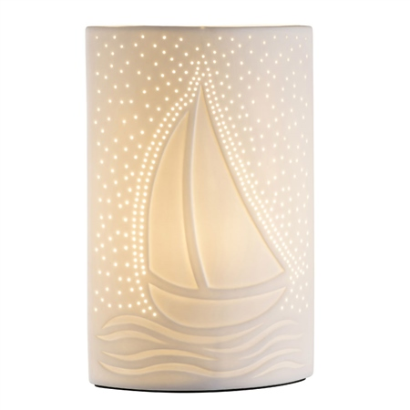 Belleek Living Sail Away Luminaire  - Click to view a larger image
