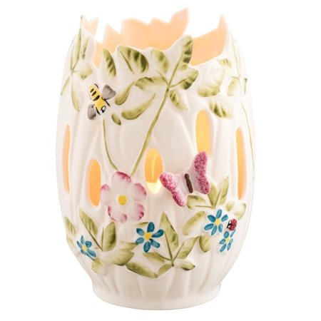 Belleek Classic Catalina Votive  - Click to view a larger image