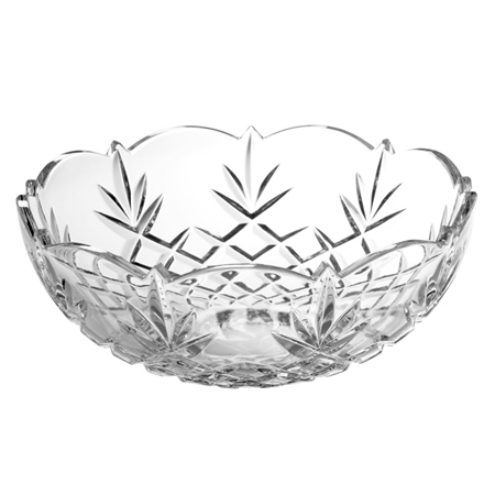 """Galway Crystal Renmore 9"""" Bowl  - Click to view a larger image"""
