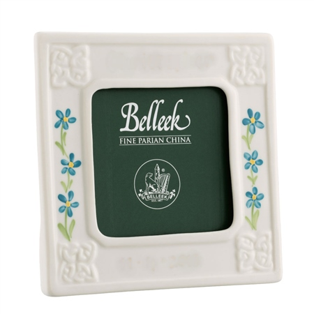 Belleek Classic Boy 3 x 3 Personalised Frame  - Click to view a larger image