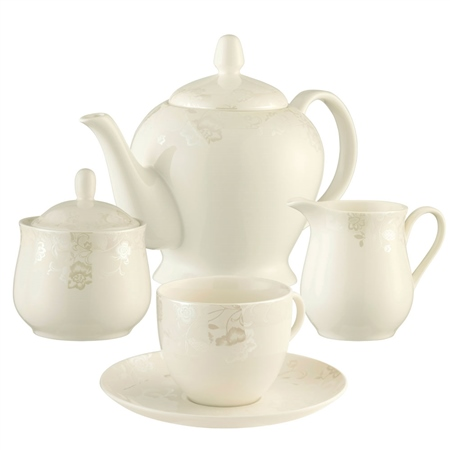 Belleek Living Evermore Teaset - *Belleek.com - Exclusive*  - Click to view a larger image