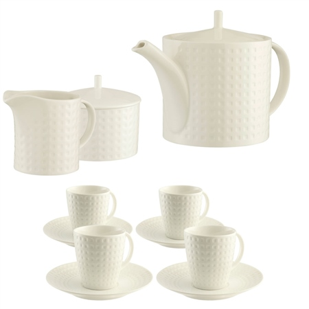 Belleek Living Grafton Teaset  - Click to view a larger image