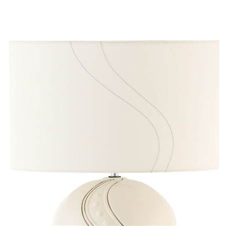 Belleek Living Silver Ripple Shade  - Click to view a larger image