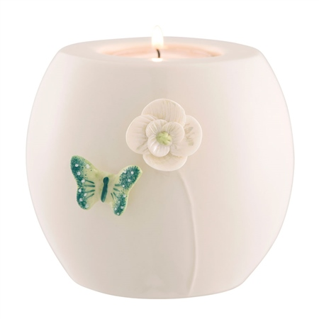 Belleek Living Colour Collection - Jade Votive  - Click to view a larger image