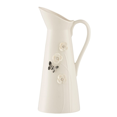 Belleek Living Colour Collection - Graphite Pitcher  - Click to view a larger image