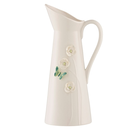 Belleek Living Colour Collection - Jade Pitcher  - Click to view a larger image