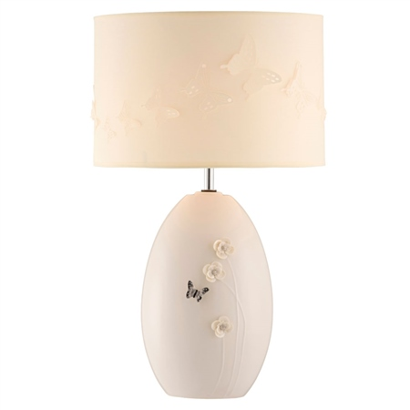 Belleek Living Colour Collection - Graphite Lamp and Shade *Belleek.com - Exclusive*  - Click to view a larger image