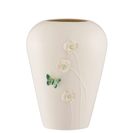 "Belleek Living Colour Collections - Jade 8"" Vase Belleek Jade Giftware Collection - Click to view a larger image"