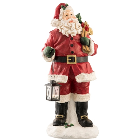 """Aynsley Santa with Lantern 30""""  - Click to view a larger image"""