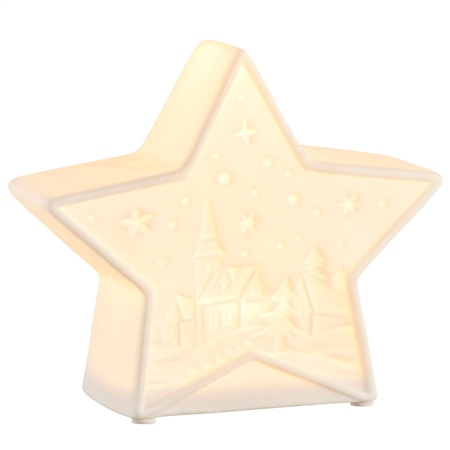 Belleek Living Mini Christmas Star LED  - Click to view a larger image