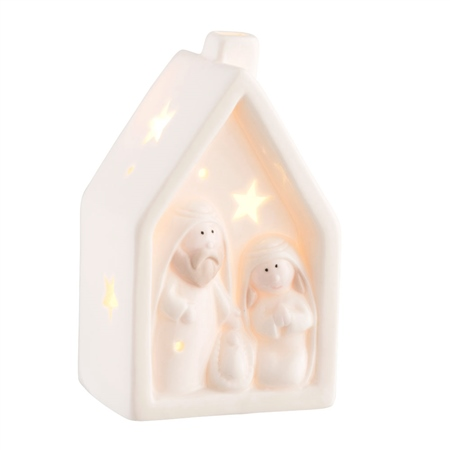 Belleek Living Nativity Nightlight LED  - Click to view a larger image