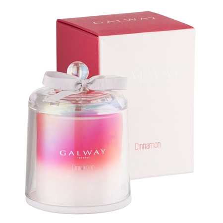 Galway Living Cinnamon Scented Bell Jar Candle  - Click to view a larger image