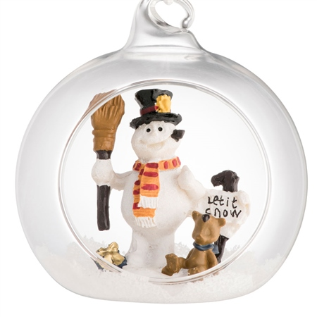 Galway Living Let it Snow Hanging Ornament  - Click to view a larger image
