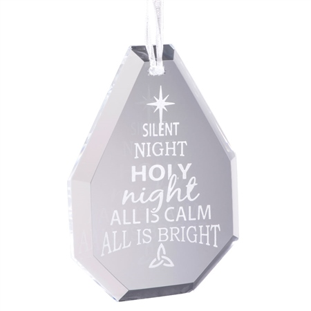 Galway Living Silent Night Hanging Ornament  - Click to view a larger image