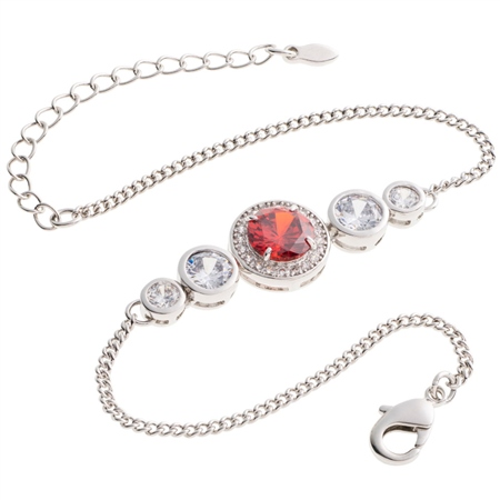 Belleek Designer Jewellery Elements Bracelet - Fire  - Click to view a larger image