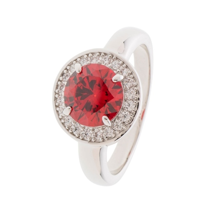 Belleek Designer Jewellery Elements Ring- Fire  - Click to view a larger image