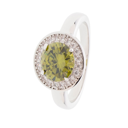 Belleek Designer Jewellery Elements Ring - Earth  - Click to view a larger image