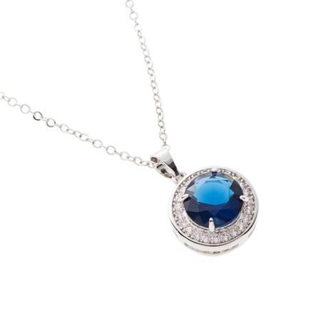 Belleek Designer Jewellery Elements Necklace - Water  - Click to view a larger image