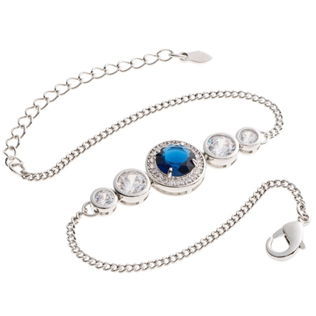 Belleek Designer Jewellery Elements Bracelet - Water  - Click to view a larger image