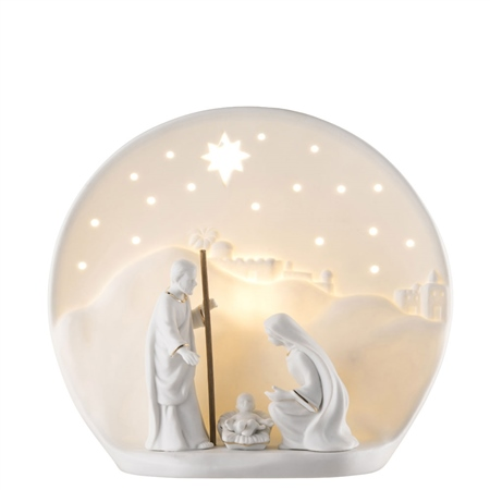 Belleek Living Nativity Luminiare (US Fitting)  - Click to view a larger image
