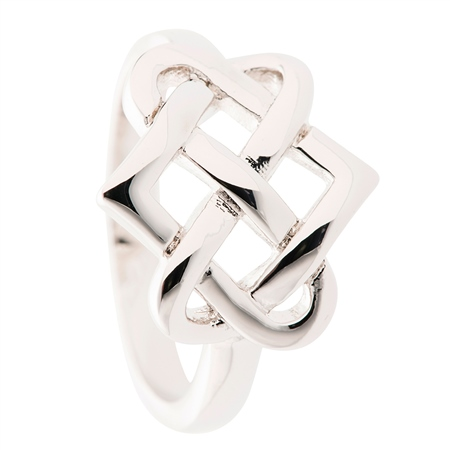 Belleek Designer Jewellery Eternity Ring Belleek Jewellery - Eternity Collection - Click to view a larger image
