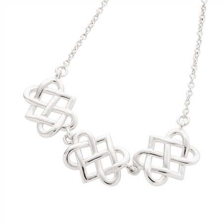 Belleek Designer Jewellery Eternity Necklace Belleek Jewellery - Eternity Collection - Click to view a larger image