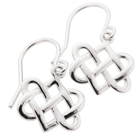 Belleek Designer Jewellery Eternity Earrings Belleek Jewellery - Eternity Collection - Click to view a larger image