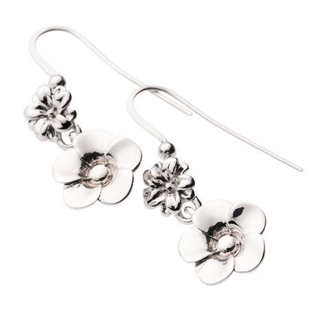 Belleek Designer Jewellery Flora Earrings Belleek Jewellery - Flora Collection - Click to view a larger image