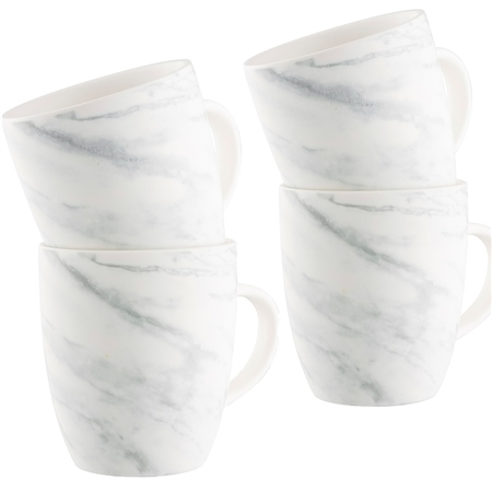 Belleek Living Marbled Set of Four Mugs Marbled Tableware Collection - Click to view a larger image