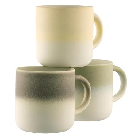 Belleek Living Mysa Three Mug Set Belleek Mysa Mug Collection - Click to view a larger image