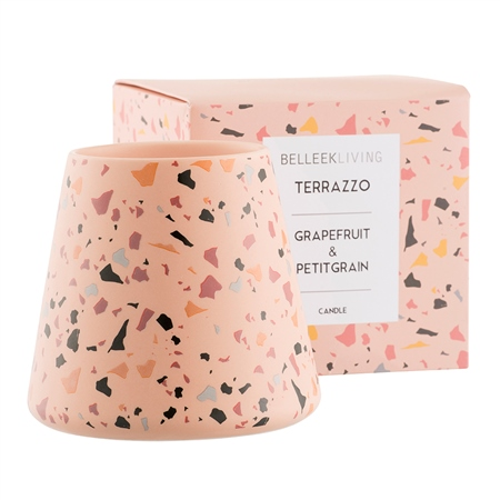 Belleek Living Grapefruit & Petitgrain Candle Large Belleek Home Fragrance -Grapefruit  Petitgrain - Candle - Click to view a larger image
