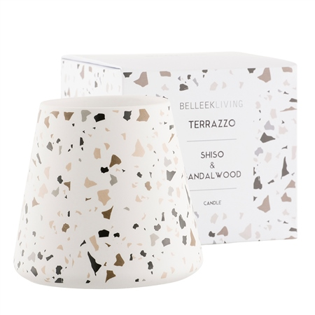 Belleek Living Shiso & Sandalwood Candle Large Belleek Home Fragrance - Shiso  Sandalwood Candle - Click to view a larger image