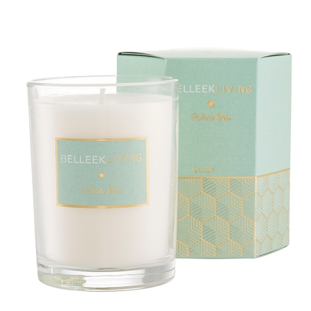 Belleek Living White Tea Candle Belleek Home Fragrance - White Tea Candle - Click to view a larger image