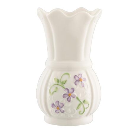 Belleek Classic Irish Flax Mini Vase Belleek Classic Handcrafted Irish Flax Mini Vase - Click to view a larger image