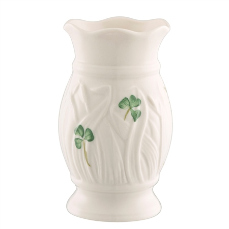 "Belleek Classic Meadow 4"" Vase Belleek Classic Handcrafted Meadow Mini Vase - Click to view a larger image"