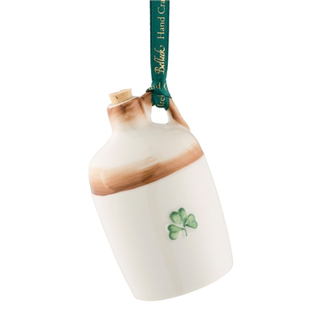 Belleek Classic Jar Ornament  - Click to view a larger image