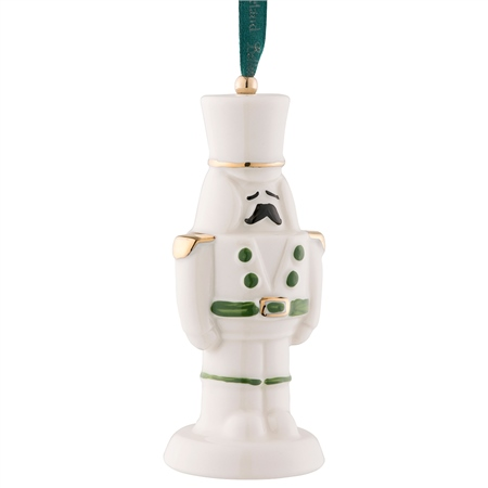 Belleek Classic Nutcracker Ornament  - Click to view a larger image