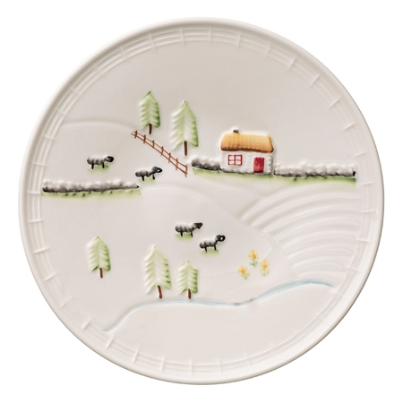 Belleek Classic Connemara Tea Plate  - Click to view a larger image