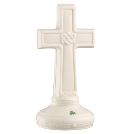 Belleek Classic Love Knot Cross Edition Piece 2020 Belleek Classic Handcrafted Love Knot Cross 2020 - Click to view a larger image