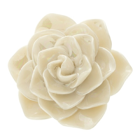 Belleek Classic Jewellery Wild Rose Brooch (Mother of Pearl) Belleek Classic Jewellery - Heirloom Collection - Click to view a larger image