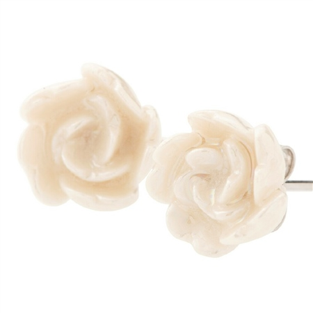 Belleek Classic Jewellery Camelia Earrings Rose Gold Belleek Classic Jewellery Heirloom Collection - Click to view a larger image