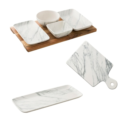 Belleek Living Marbled Party Tableware Set 1