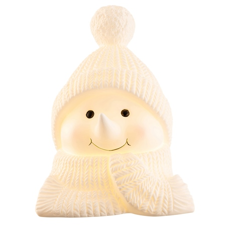 Belleek Living Cosy Snowman LED Belleek Living Christmas - Cosy Snowman LED - Click to view a larger image