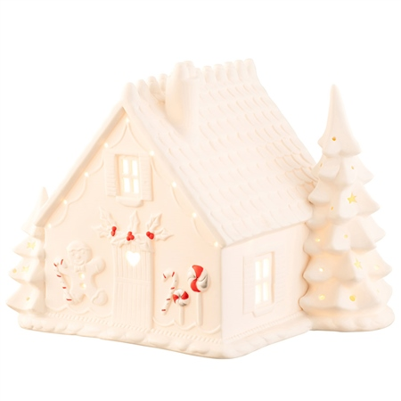 Belleek Living Gingerbread House Luminaire Belleek Living Christmas - Gingerbread House Luminaire - Click to view a larger image