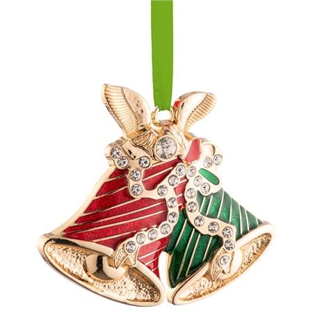 Belleek Living Barnardo's Christmas Bells Enamel Ornament Belleek Living Christmas - Barnardos Christmas Bells Enamel Ornament - Click to view a larger image